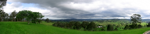 Bega valley view